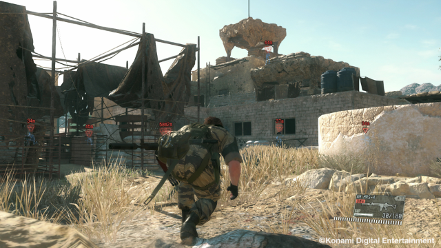 METAL GEAR SOLID V: THE PHANTOM PAIN ゲーム画面2