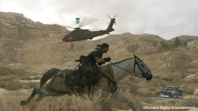 METAL GEAR SOLID V: THE PHANTOM PAIN ゲーム画面3