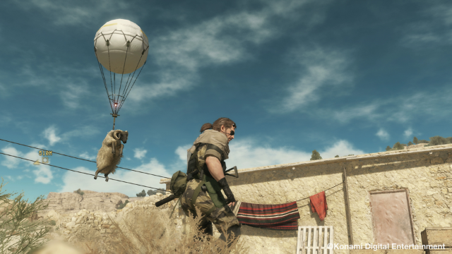 METAL GEAR SOLID V: THE PHANTOM PAIN ゲーム画面9