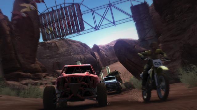 MotorStorm ゲーム画面5