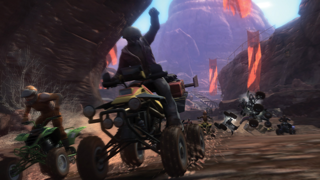 MotorStorm ゲーム画面6