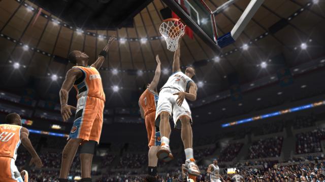 NBA 07 ゲーム画面1