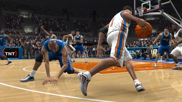 NBA 07 ゲーム画面6