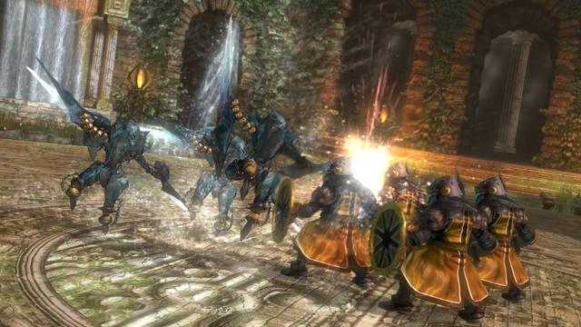 THE EYE OF JUDGMENT BIOLITH REBELLION ~機神の叛乱~ SET.1 ゲーム画面5