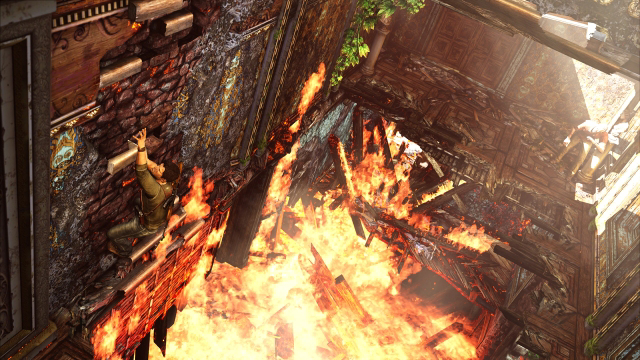 アンチャーテッド -砂漠に眠るアトランティス- ゲーム画面2