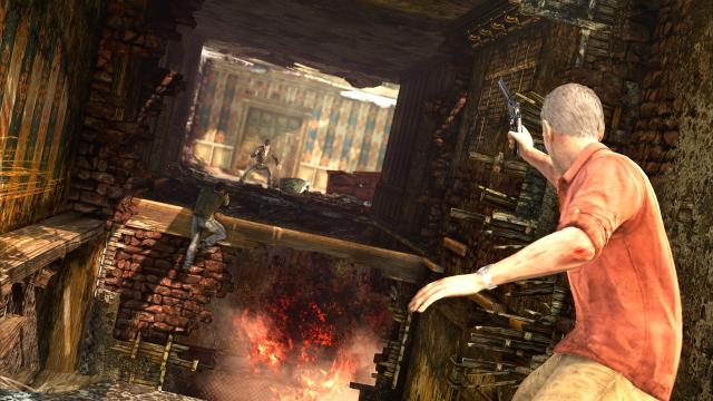 アンチャーテッド -砂漠に眠るアトランティス- PlayStation®3 the Best ゲーム画面3