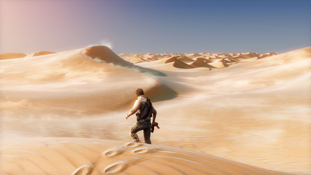 アンチャーテッド -砂漠に眠るアトランティス- ゲーム画面4