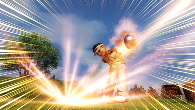みんなのGOLF 5 PlayStation®3 the Best ゲーム画面5