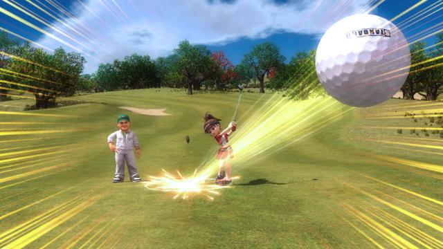みんなのGOLF 5 PlayStation®3 the Best ゲーム画面6