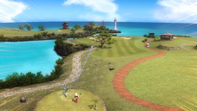 みんなのGOLF 5 PlayStation®3 the Best ゲーム画面9