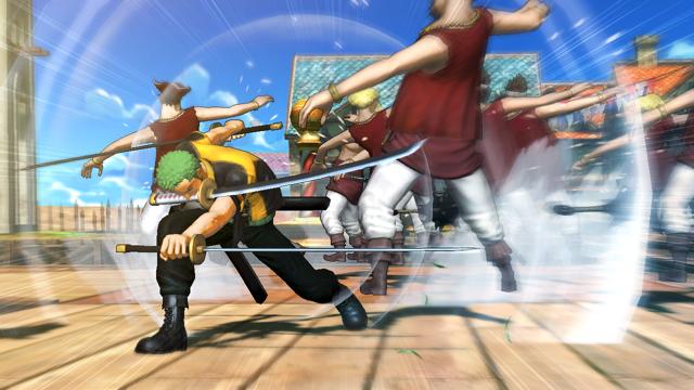 ワンピース 海賊無双 TREASURE BOX ゲーム画面3
