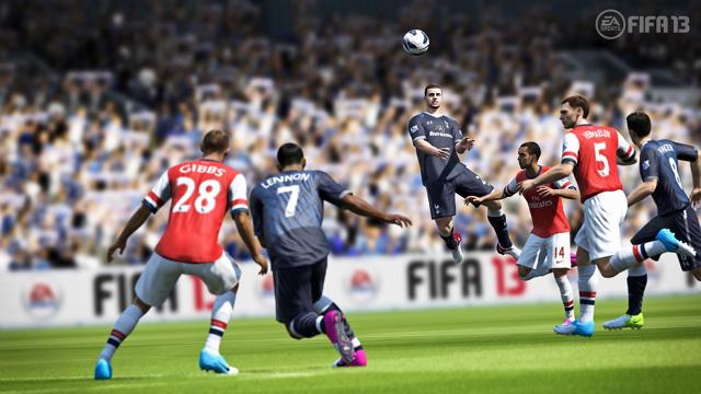 FIFA13 ワールドクラスサッカー ゲーム画面2