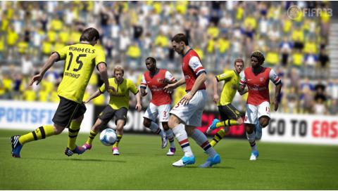 FIFA13 ワールドクラスサッカー ゲーム画面3