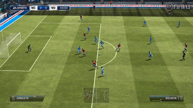 FIFA13 ワールドクラスサッカー ゲーム画面4