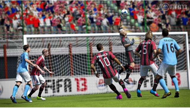 FIFA13 ワールドクラスサッカー ゲーム画面6