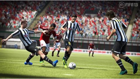 FIFA13 ワールドクラスサッカー ゲーム画面8