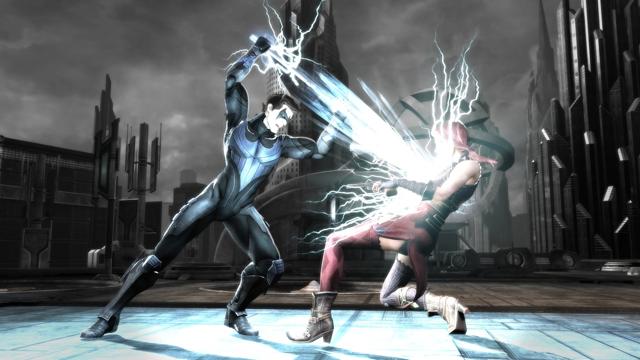 インジャスティス:神々(ヒーロー)の激突 ゲーム画面4