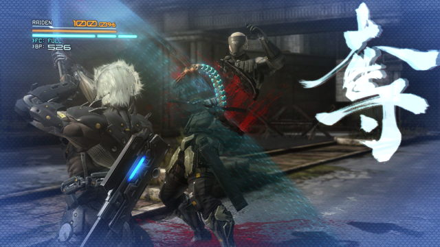 METAL GEAR RISING REVENGEANCE ゲーム画面4