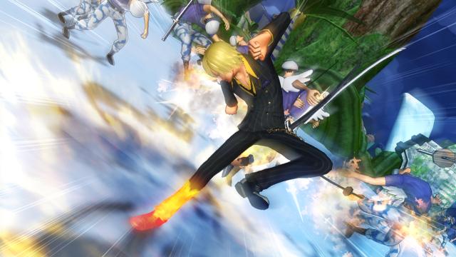ワンピース 海賊無双2 ゲーム画面2