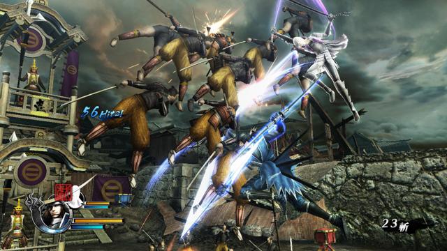 戦国BASARA4 ゲーム画面1