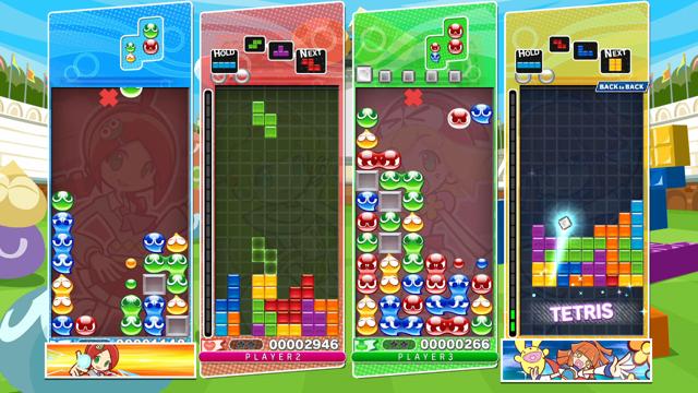 ぷよぷよテトリス ゲーム画面6