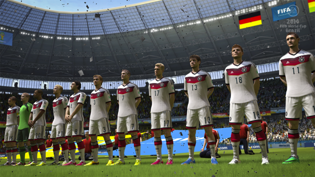2014 FIFA World Cup Brazil ゲーム画面3