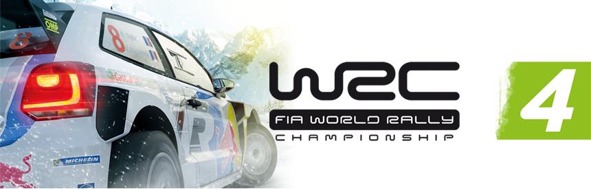 WRC 4 FIA ワールドラリーチャンピオンシップ バナー画像
