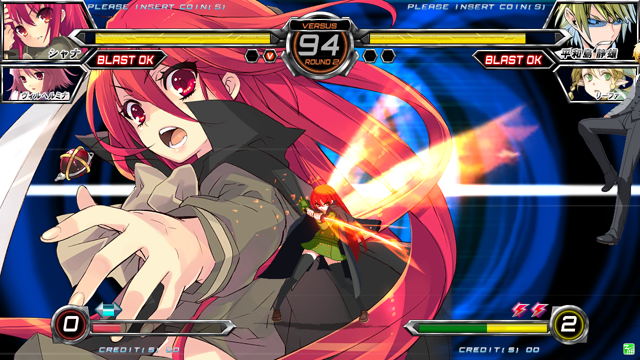電撃文庫 FIGHTING CLIMAX ゲーム画面2