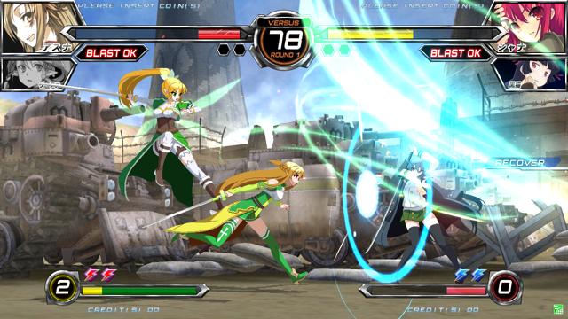 電撃文庫 FIGHTING CLIMAX ゲーム画面3