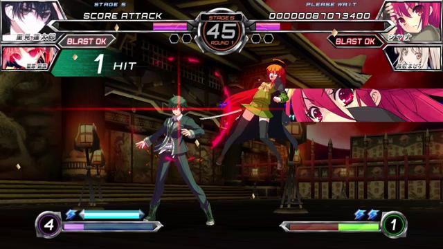 電撃文庫 FIGHTING CLIMAX ゲーム画面8