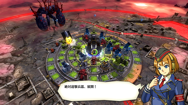 絶対迎撃ウォーズ ゲーム画面3