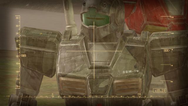 機動戦士ガンダム Target in Sight ゲーム画面5