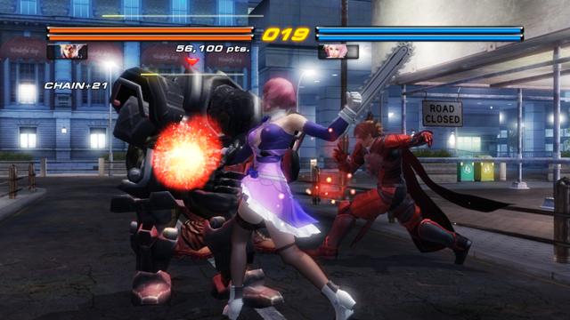 鉄拳6 ゲーム画面3