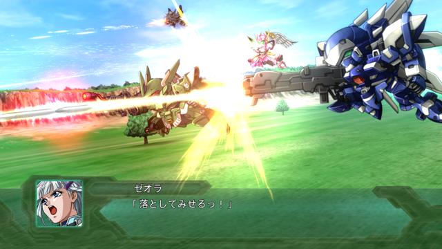 第2次スーパーロボット大戦OG ゲーム画面2