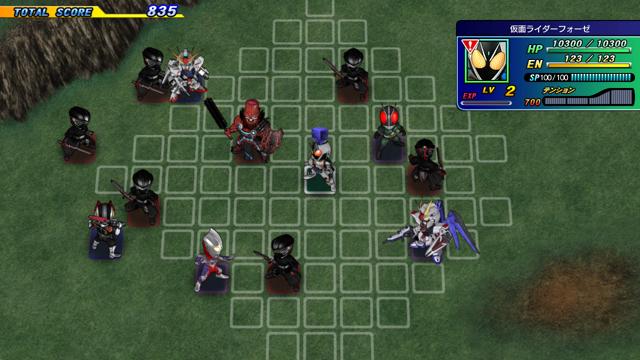 スーパーヒーロージェネレーション ゲーム画面4