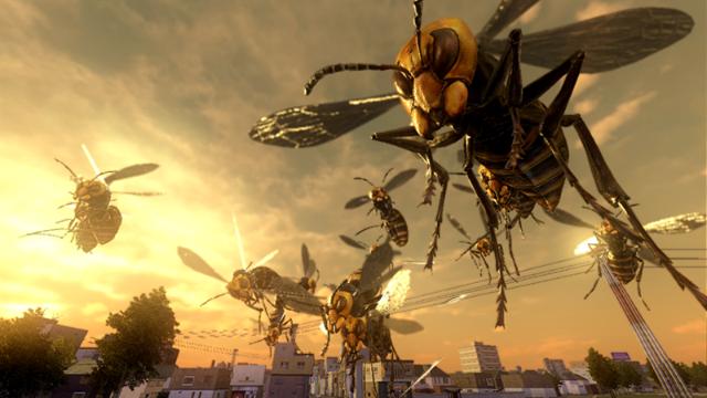 地球防衛軍4 ゲーム画面3