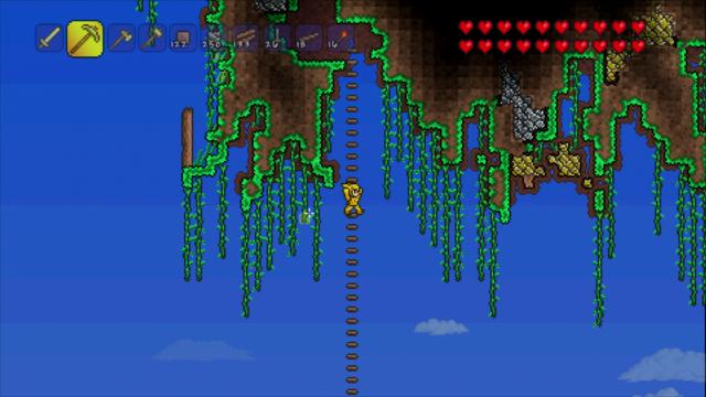 テラリア ゲーム画面5