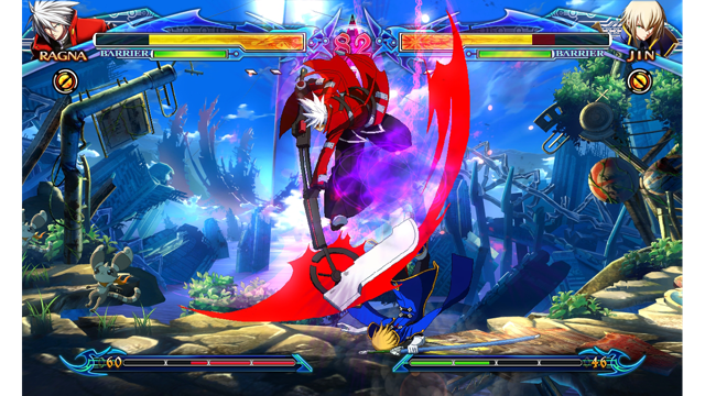 BLAZBLUE CHRONOPHANTASMA PlayStation®3 the Best ゲーム画面1