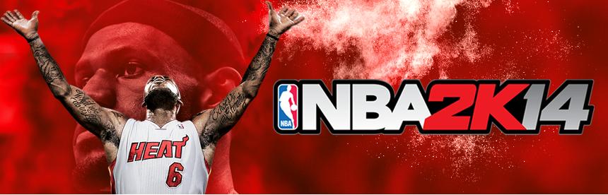 NBA 2K14 バナー画像