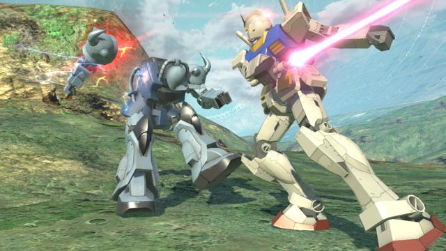 ガンダムブレイカー2 ゲーム画面4