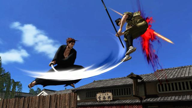 憂世ノ志士 ゲーム画面1