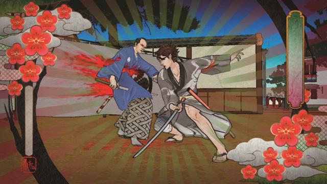 憂世ノ志士 ゲーム画面2