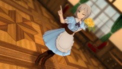 『TVアニメ アイドルマスター シンデレラガールズ G4U!パック VOL.5』ゲーム画面