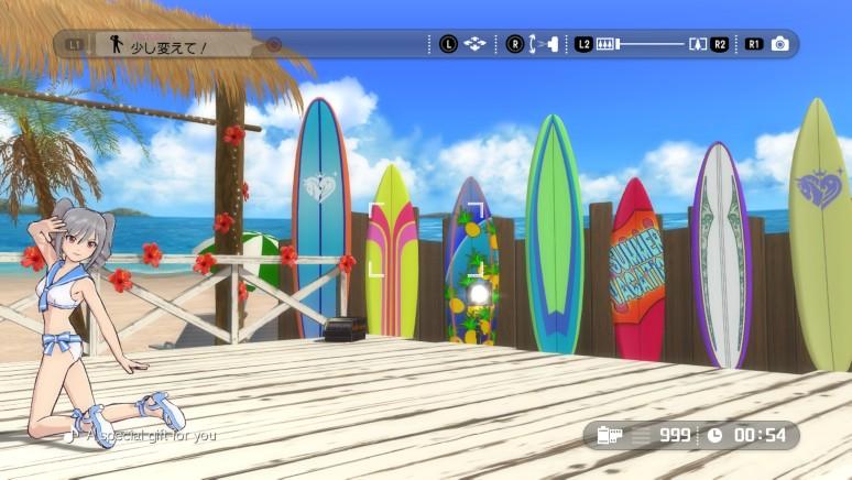 『TVアニメ アイドルマスター シンデレラガールズ G4U!パック VOL.6』ゲーム画面