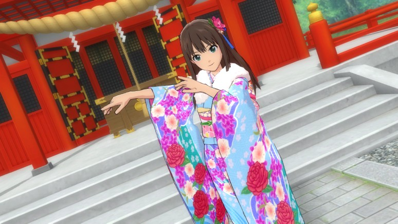 『TVアニメ アイドルマスター シンデレラガールズ G4U!パック VOL.7』ゲーム画面