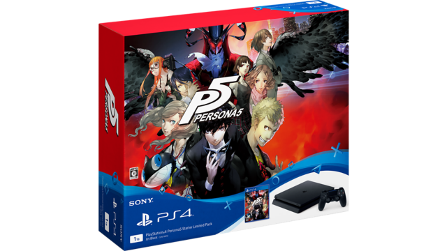 PlayStation®4 Persona5 Starter Limited Pack