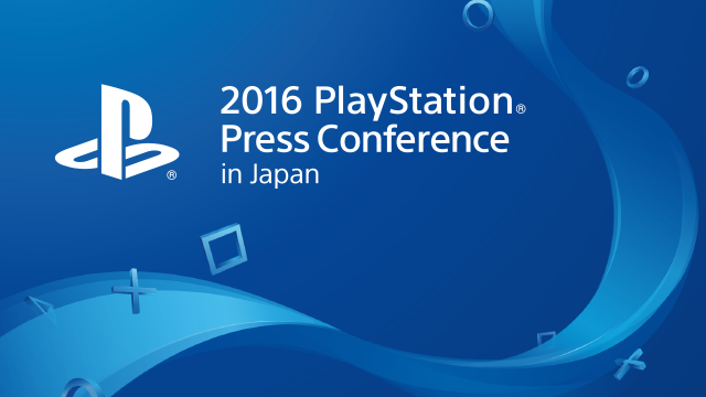 2016 PlayStation Press Conference in Japan