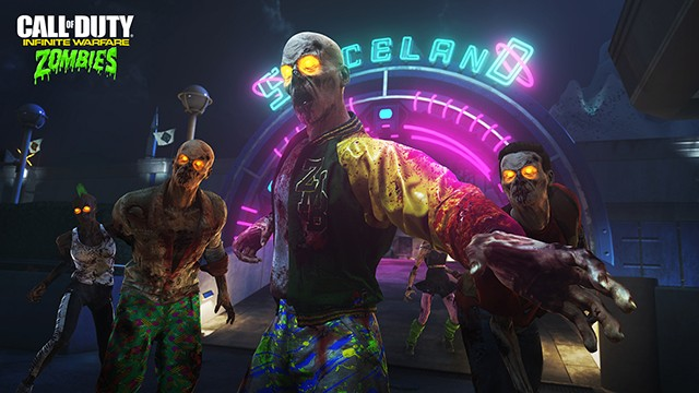 ZOMBIES IN SPACELAND トレーラー