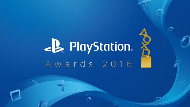 PlayStation® Awards 2016
