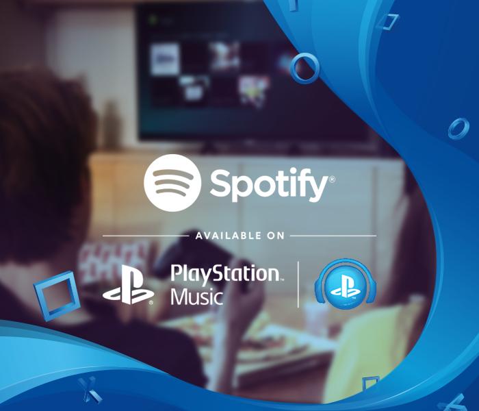 プレイステーションで、Spotifyと遊ぼう